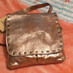 Patricia Nash champagne gold purse